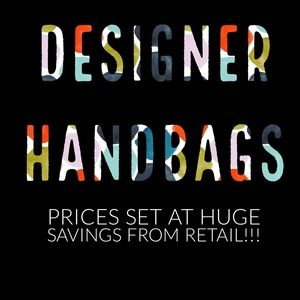 Great Deals on NEW Designer Handbags